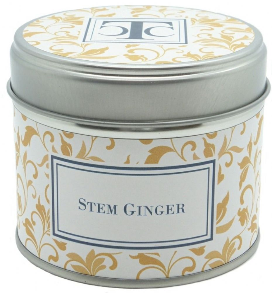 Stem Ginger Scented Candle Tin 35 hour